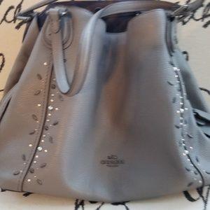 Coach Edie Shoulder bag 31 with prairie rivets